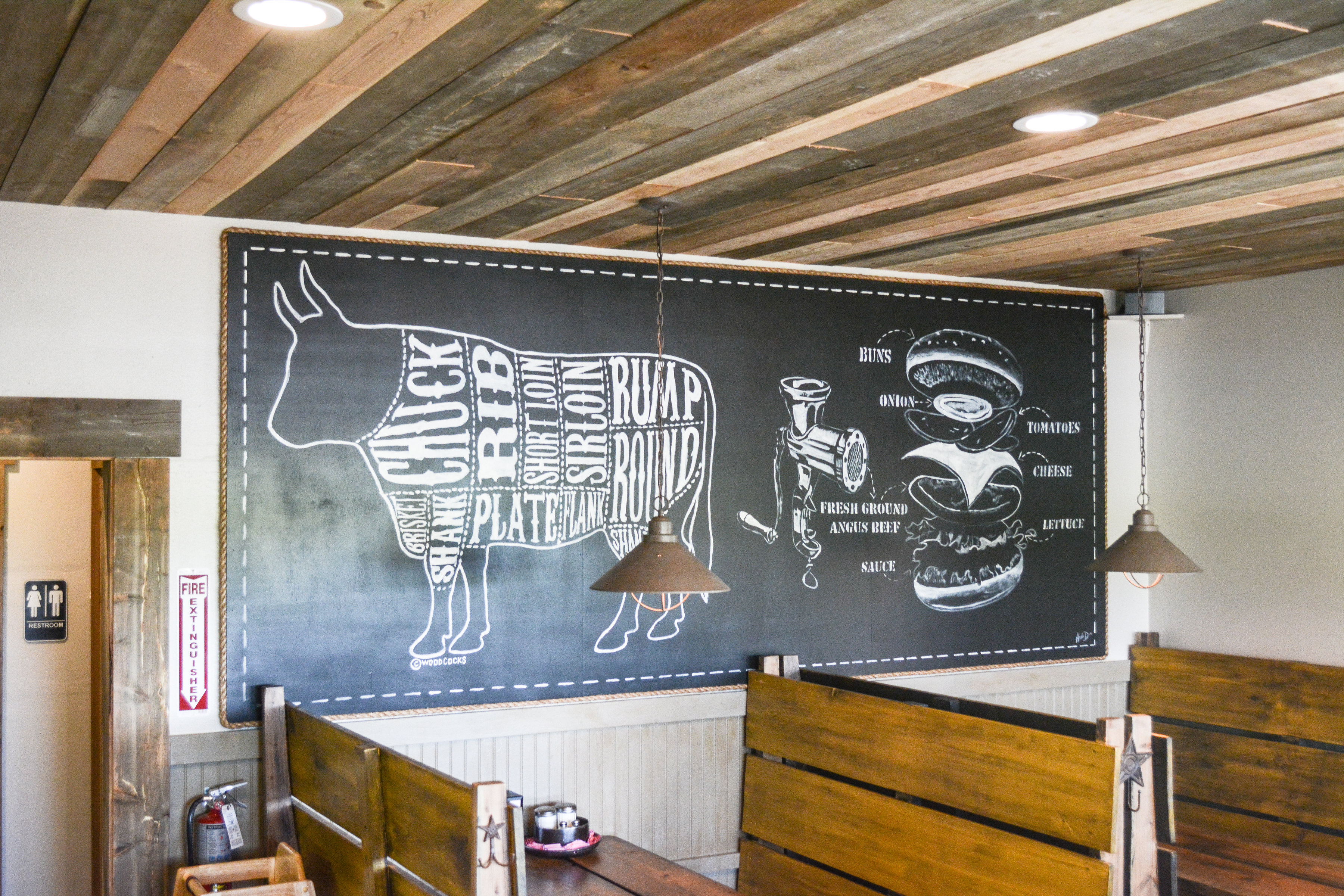 Mural In Dining Room
